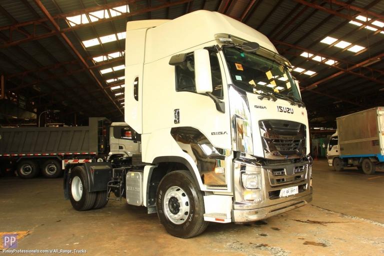 Trucks for Sale - Isuzu GIGA EXR QL4180U2JDR Tractor Head Prime Mover 4x2 6-wheeler