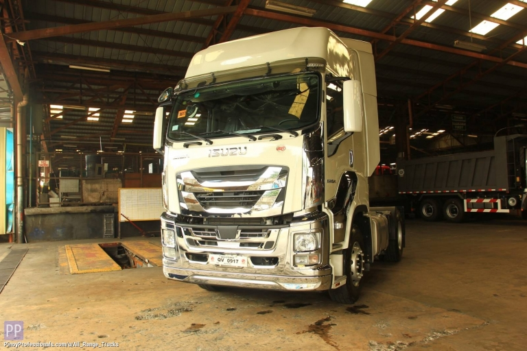 Trucks for Sale - Isuzu GIGA EXR QL4180W1JDR Tractor Head Prime Mover 4x2 6-wheeler