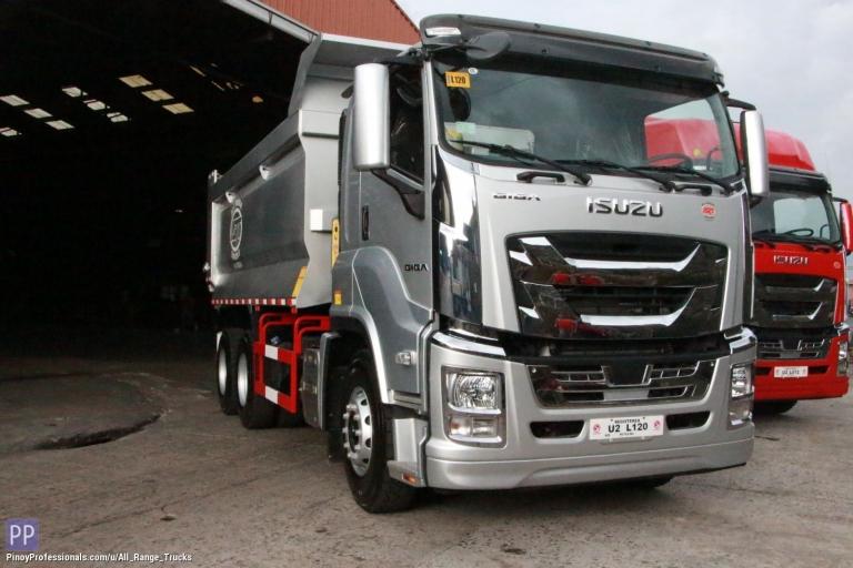 Trucks for Sale - Isuzu GIGA CYZ QL1250U1QDZY Dump Truck Tipper 6x4 10 wheeler
