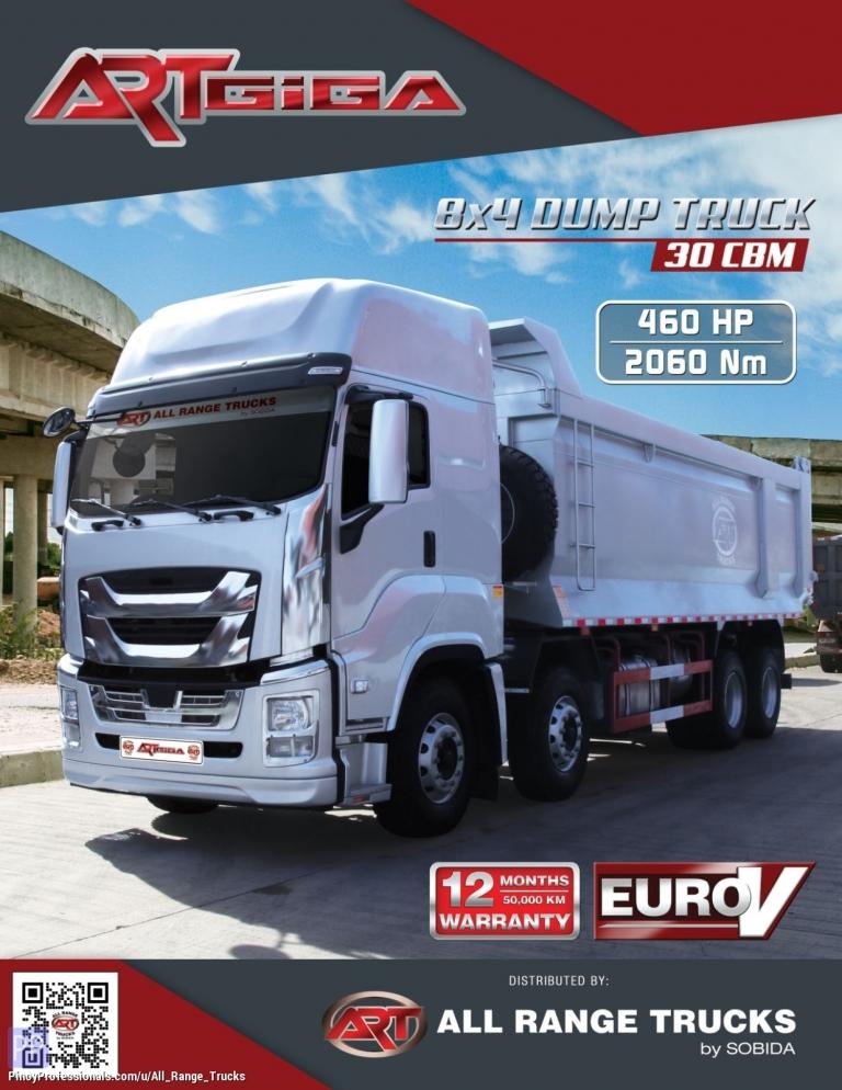 Trucks for Sale - Isuzu GIGA CYH QL5400GXFW2VCHY Dump Truck Tipper 8x4 12 wheeler