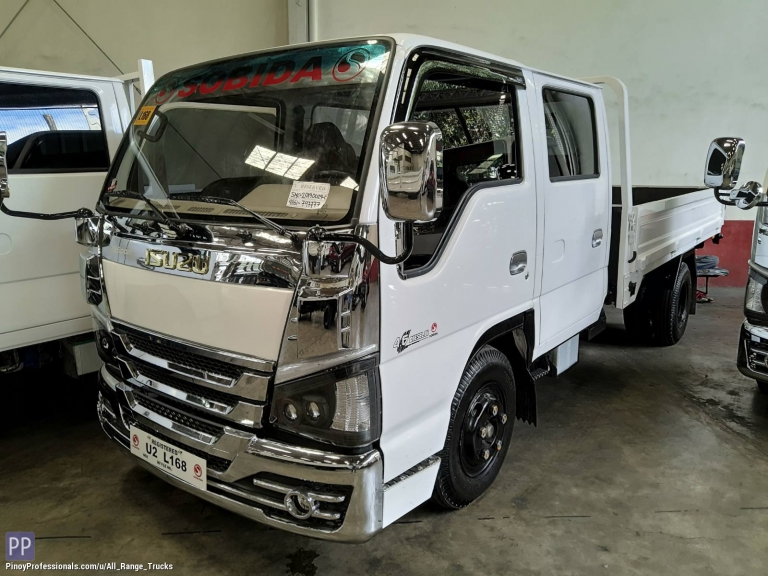 Trucks for Sale - Sobida Isuzu NKR NHR NLR NMR Double Cab dropside 6wheel truck elf canter