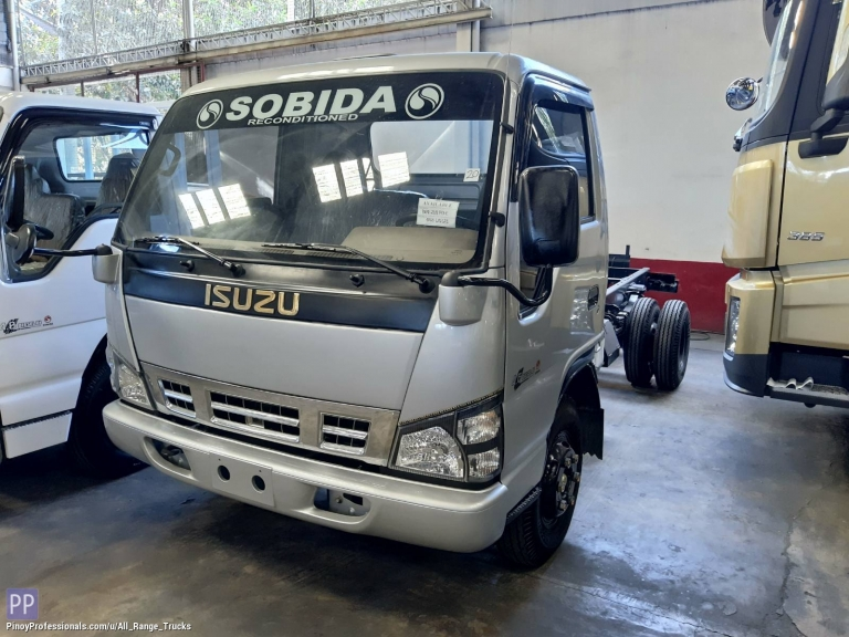Trucks for Sale - Sobida Isuzu NPR 6wheel Cab & Chassis truck elf canter hino