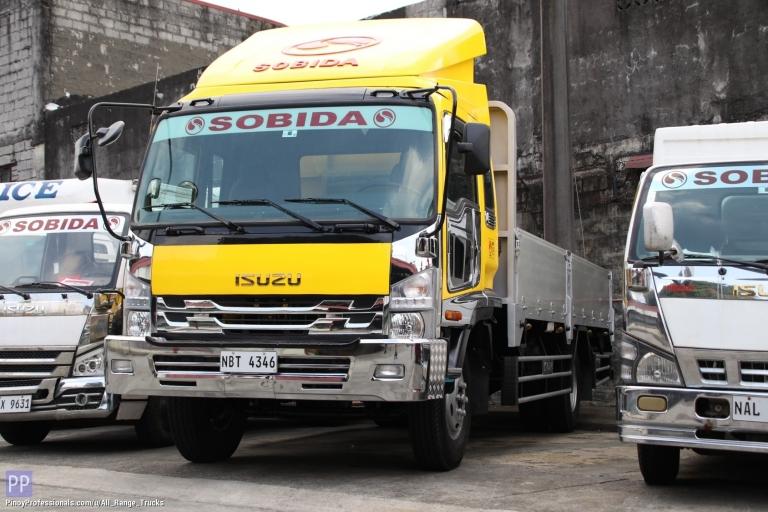 Trucks for Sale - Sobida Isuzu FRR Forward Aluminum Dropside 6wheel truck