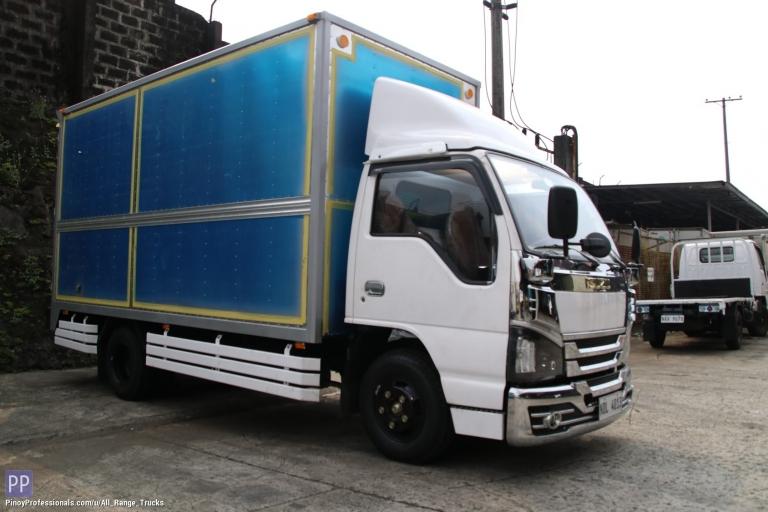 Trucks for Sale - Sobida Isuzu NHR NKR NLR NMR Aluminum Closed Van truck elf canter hino
