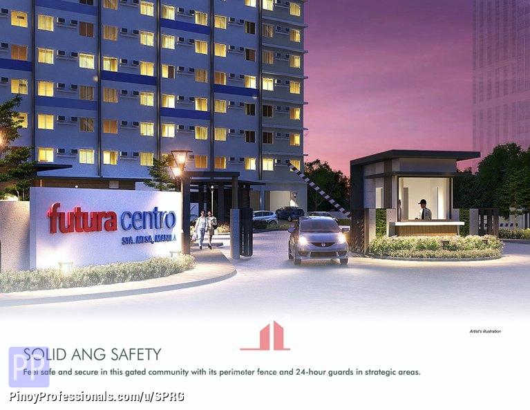 Apartment and Condo for Sale - Futura Centro I Sta Mesa Manila