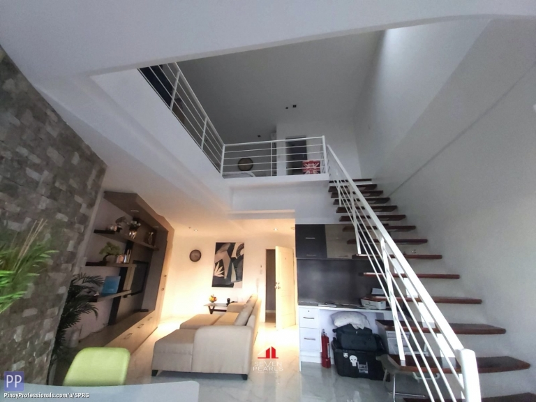Apartment and Condo for Sale - 1BR Loft Unit The Gramercy Residences I For Sale & Lease