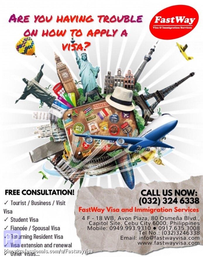 Specialty Services - Tourist Visa, Fiancée Visa/Spousal Visa and Other Services