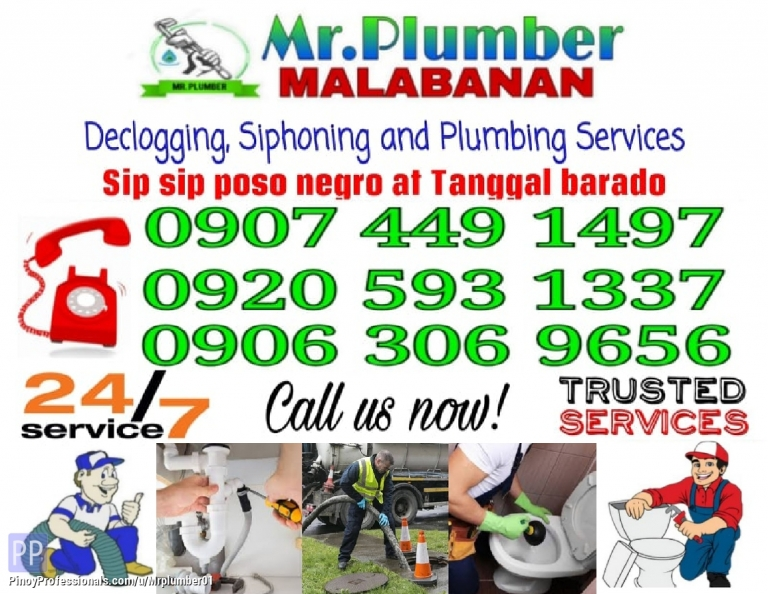Business and Professional Services - Mr.Plumber Declogging and Siphoning Services 09074491497