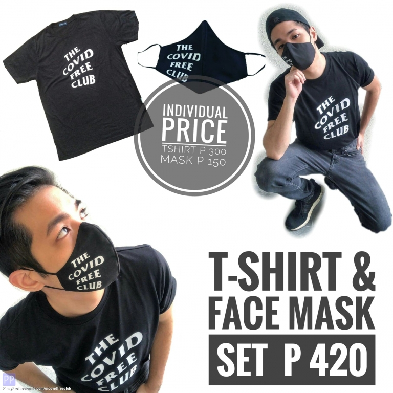 Clothing and Accessories - FOR SALE TSHIRT & WATERPROOF FACE MASK FOR ONLY 420