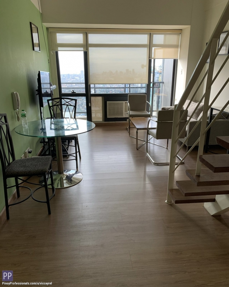 Apartment and Condo for Rent - Cozy 2-Bedroom Loft for Lease at The Gramercy Residences