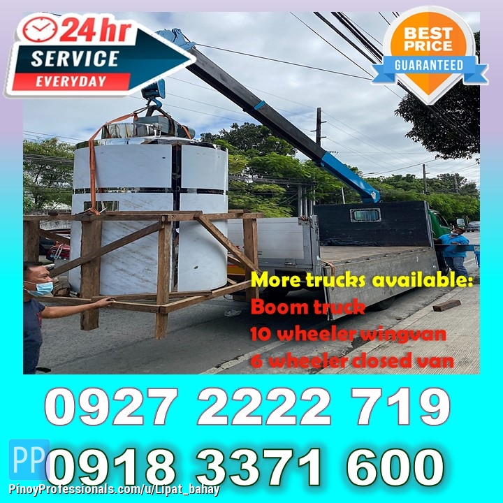 Moving Services - LOW PRICED LIPAT BAHAY TRUCKING SERVICES