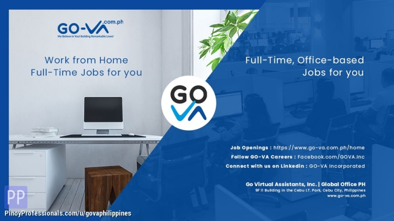 Work from Home - Work From Home Job: Appointment Setter - GO Virtual Assistants