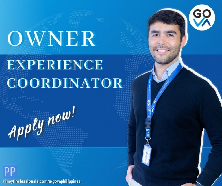 Work from Home - Work From Home Job: Owner Experience Coordinator - GO Virtual Assistants