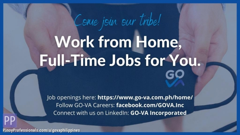 Administrative Clerical - [HIRING] Work From Home Job: Sr. Executive Assistant - GO Virtual Assistants