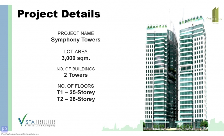Apartment and Condo for Sale - as low as 200k DOWN TO MOVE IN condo SYMPHONY TOWER near GMA7