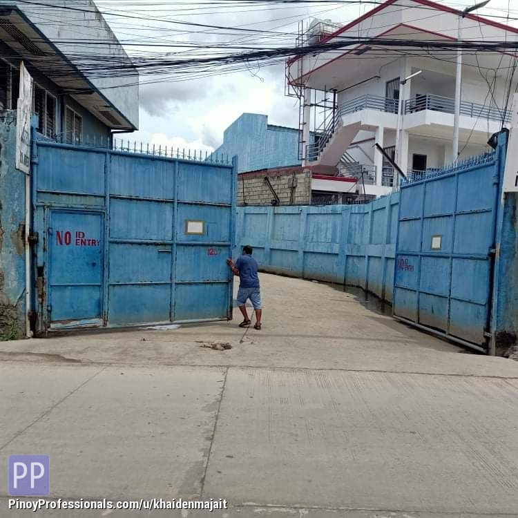 Land for Sale - 3800.25sqm industrial compound + warehouse and House , highway frontage , 5 minutes from SM seaside