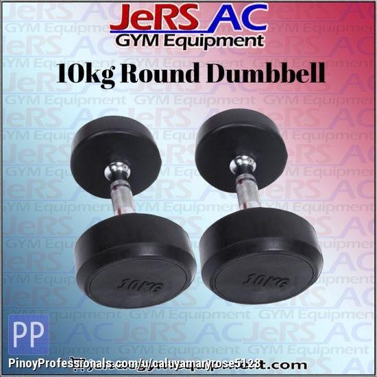 Sporting Goods - 10KG ROUND DUMBELL