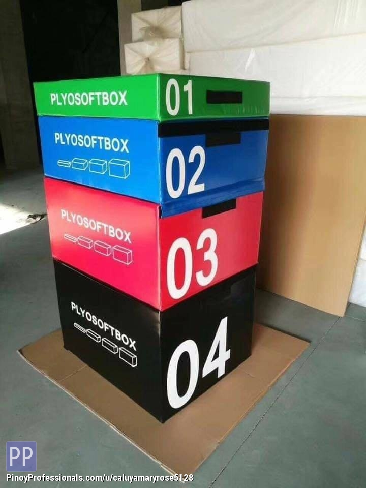 Sporting Goods - PLYOBOX SET OF 4