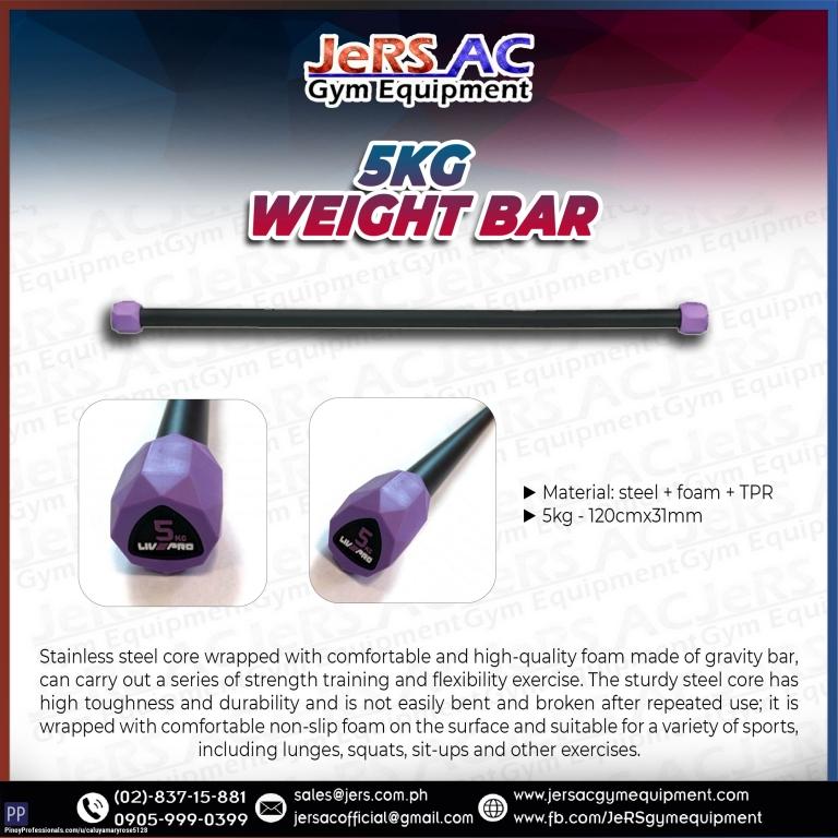 Sporting Goods - LIVEPRO 5KG WEIGHT BAR