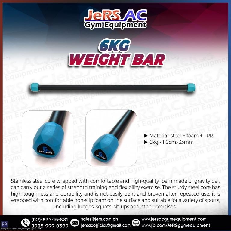 Sporting Goods - LIVEPRO 6KG WEIGHT BAR