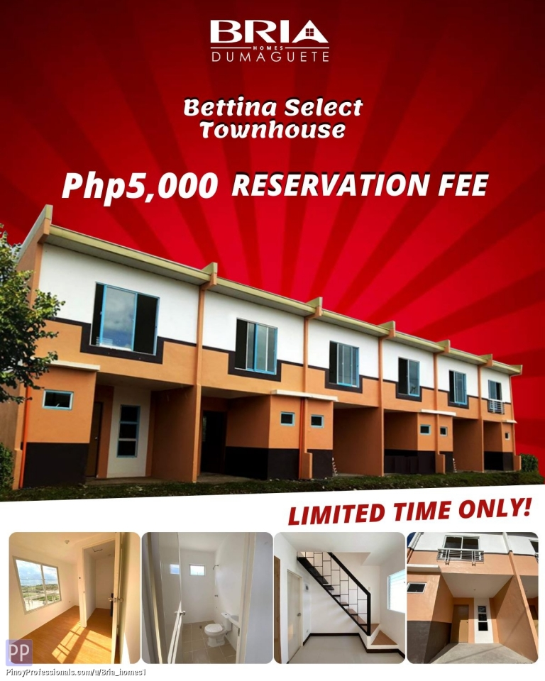 House for Sale - Bettina Select and Duplex - Bria Homes Dumaguete