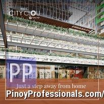Apartment and Condo for Sale - STUDIO UNIT FOR SALE!. City Clou, Located in Jakosalem St., Cebu City.