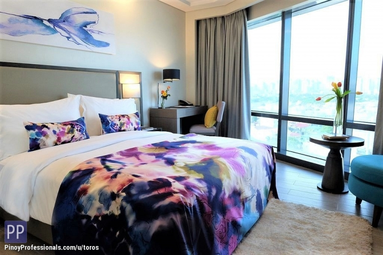 Vacation and Island Properties - SAVOY MANILA LUXURY QUEEN SUITE FULLY FURNISHED CONDOTEL 24.3 SQM
