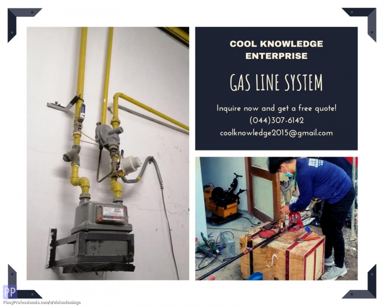 Engineers - CKE Bulacan -- Gas Line System Installation w/ Supplies
