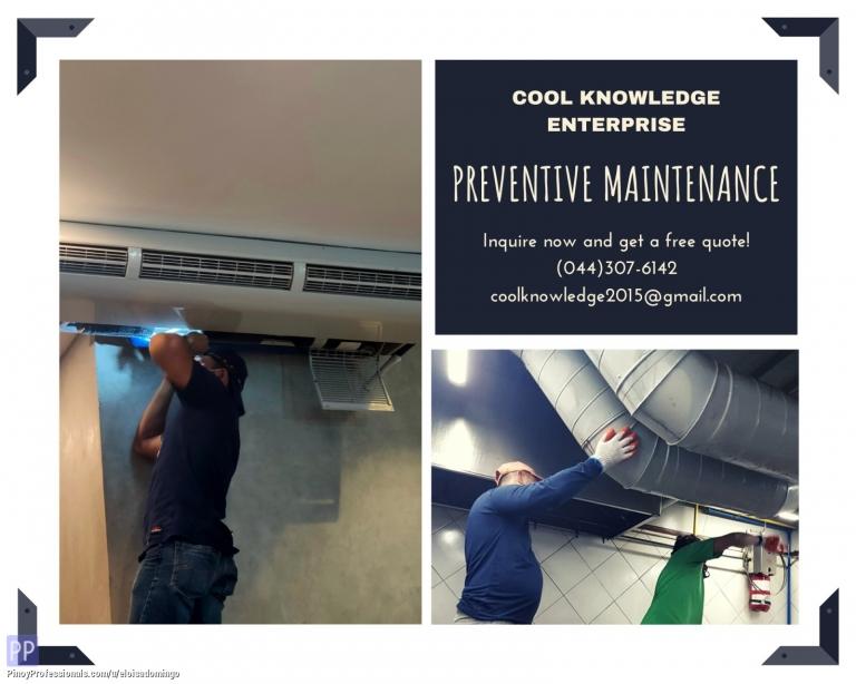 Engineers - CKE Bulacan -- Prerventive Maintenance