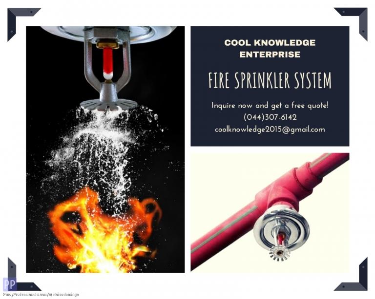 Engineers - CKE Bulacan -- Fire Sprinklers System Installation