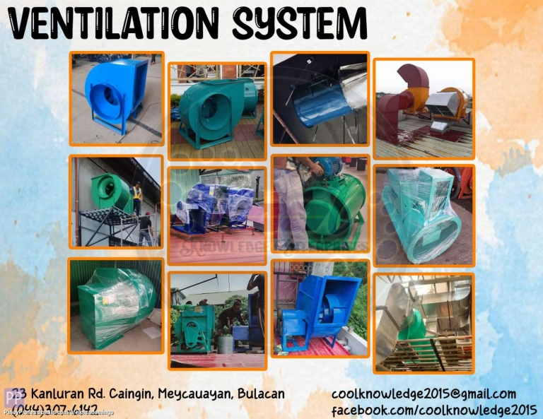 Engineers - CKE Bulacan -- Ventilation System Installation and Supplies