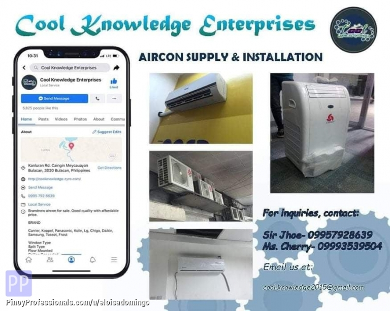 Engineers - CKE Bulacan -- We Install and Supply Air Conditioning Units