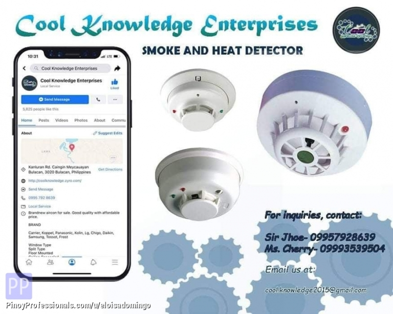 Engineers - CKE Bulacan -- We Install and Supply Smoke and Heat Detector System