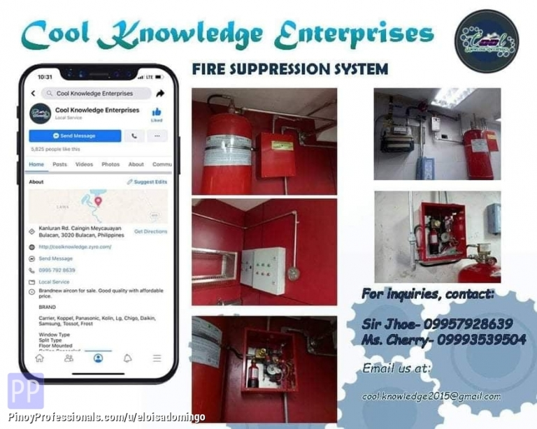 Engineers - CKE Bulacan -- We Install and Supply Fire Suppression System