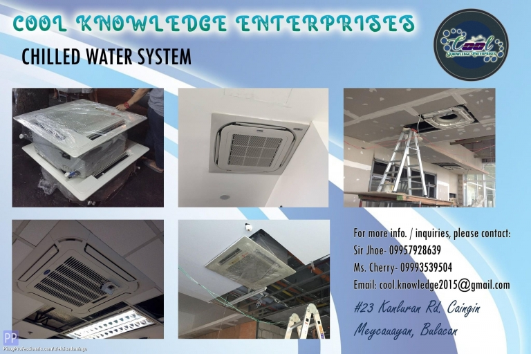 Engineers - CKE Bulacan -- We Install and Supply Chilled Water System