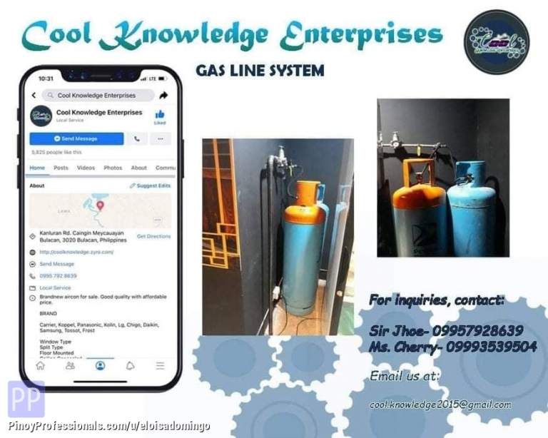 Engineers - CKE Bulacan -- We Install and Supply: Gas Line System