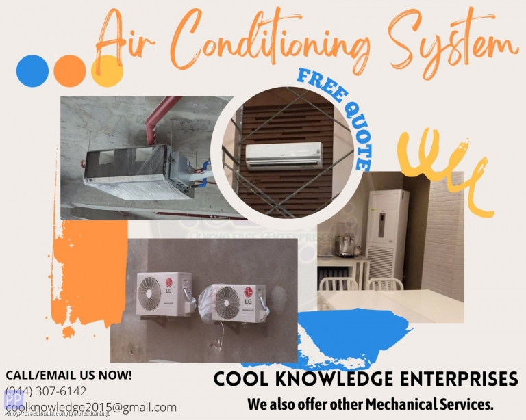 Engineers - CKE Bulacan -- Air Conditioning Units: We Install and Supply
