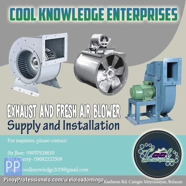 Engineers - Ventilation Services -- Contact US!: CKE Bulacan