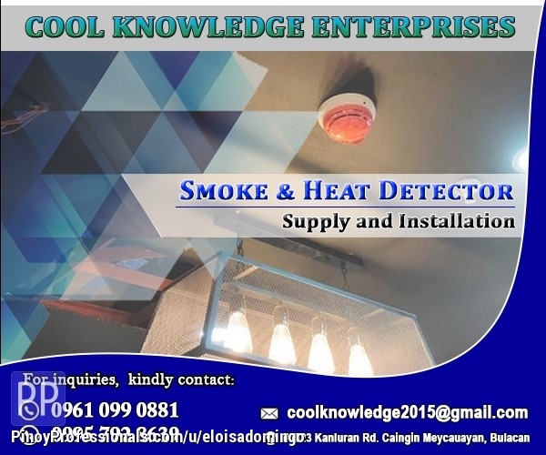 Engineers - Smoke and Heat Detetection System