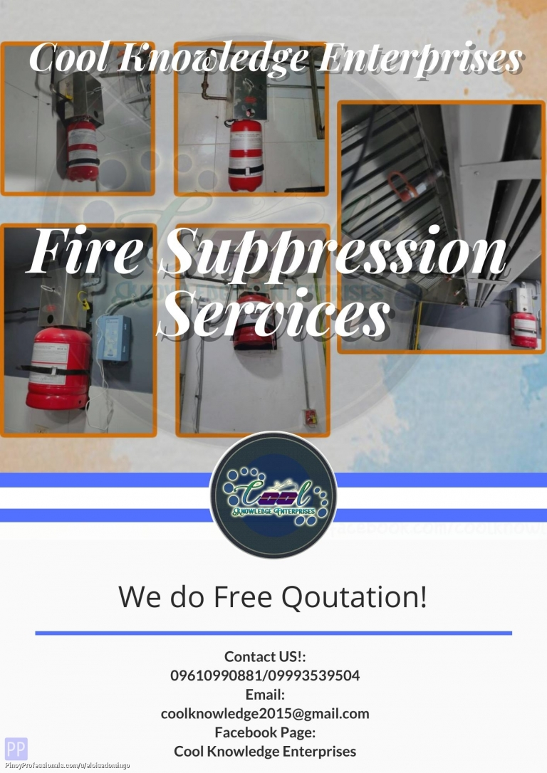 Engineers - Fire Suppression Services