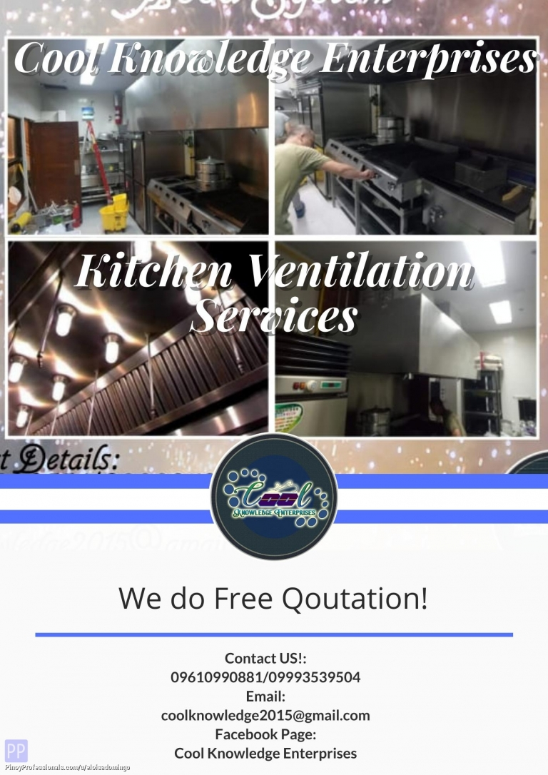 Engineers - Kitchen Ventilation with Ducting Works Services