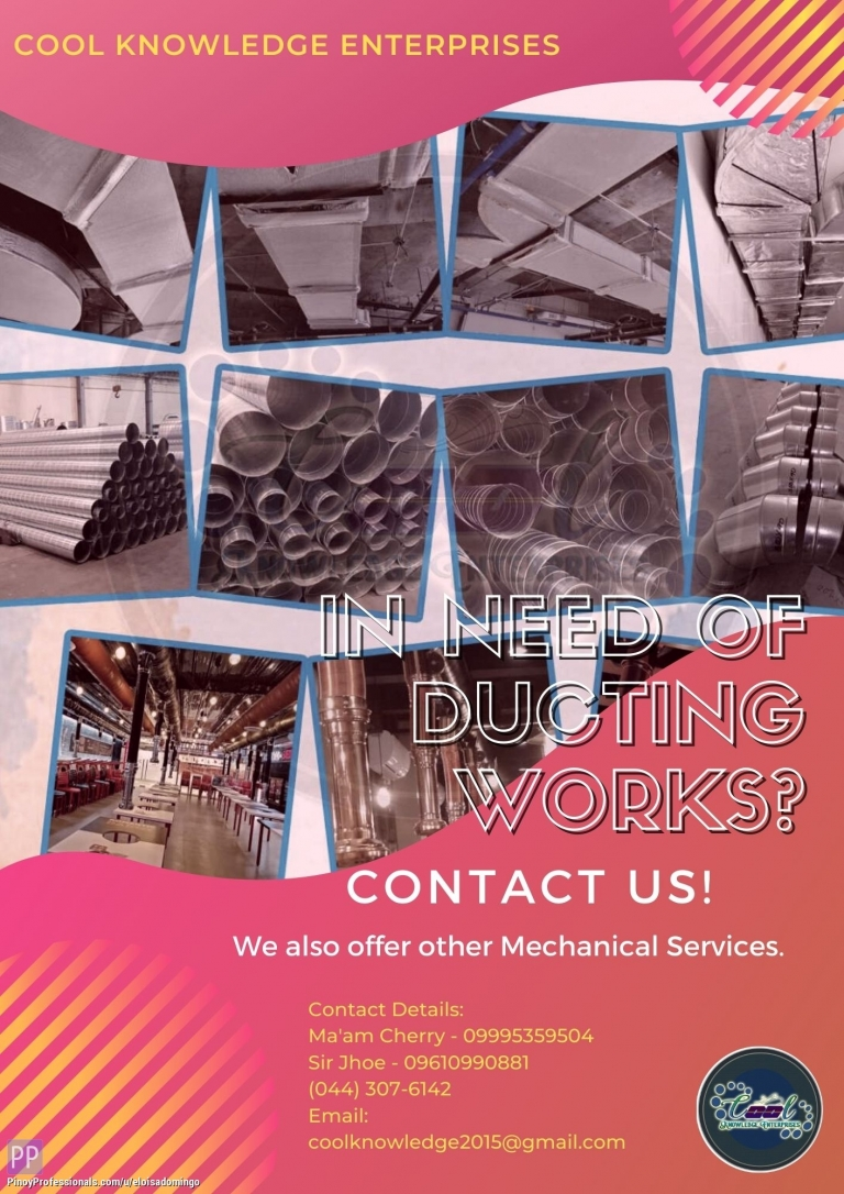 Engineers - In need of Ducting Works? Contact US!