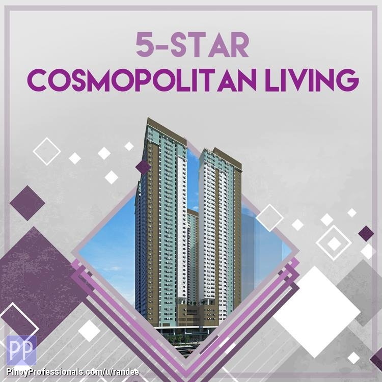 Apartment and Condo for Sale - PADDINGTON PLACE CONDO IN MANDALUYONG FOR SALE. WALKING DISTANCE FROM ORTIGAS CBD AND SM MEGAMALL. NO DOWNPAYMENT!