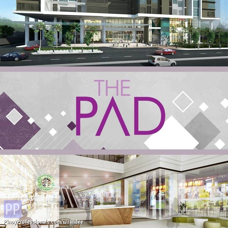 Apartment and Condo for Sale - MANDALUYONG CONDO NEAR ORTIGAS CBD AND WACK-WACK GOLF COURSE -- THE PADDINGTON PLACE WALKING DISTANCE TO MRT SHAW STATION