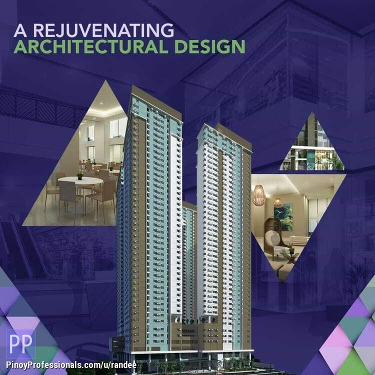 Apartment and Condo for Sale - CONDO FOR SALE IN MANDALUYONG NEAR ORTIGAS CBD AND ROCKWELL BUSINESS CENTERS. NO OUTRIGHT DP! AS LOW AS 15,000 / MONTH