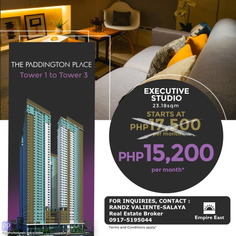 Apartment and Condo for Sale - NO DOWNPAYMENT CONDO FOR SALE IN SHAW BLVD., MANDALUYONG NEAR MRT-3 SHAW STATION AND SM MEGAMALL