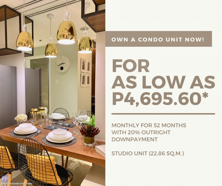 Apartment and Condo for Sale - NEW AFFORDABLE CONDO FOR SALE IN PASIG-CAINTA NEAR SM EAST AND STA. LUCIA MALL. AS LOW AS PHP 4,695 / MONTH!