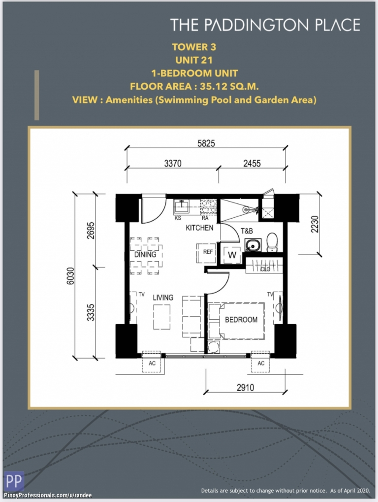 Apartment and Condo for Sale - 1BR CONDO IN MANDALUYONG CLOSE TO GREENFIELD DISTRICT, SM MEGAMALL, UNILAB AND MRT-3 SHAW STATION