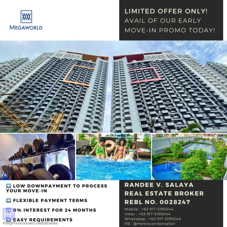 Apartment and Condo for Sale - RFO CONDO UNITS IN CUBAO QC NEAR GATEWAY MALL. AVAIL OF OUR EARLY MOVE-IN PROMO TODAY!