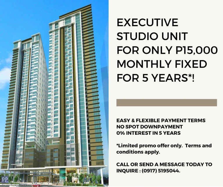 Apartment and Condo for Sale - NO DOWNPAYMENT CONDO IN SHAW BLVD., MANDALUYONG NEAR SM MEGAMALL, EDSA SHANGRI-LA PLAZA AND THE PODIUM BDO TOWER